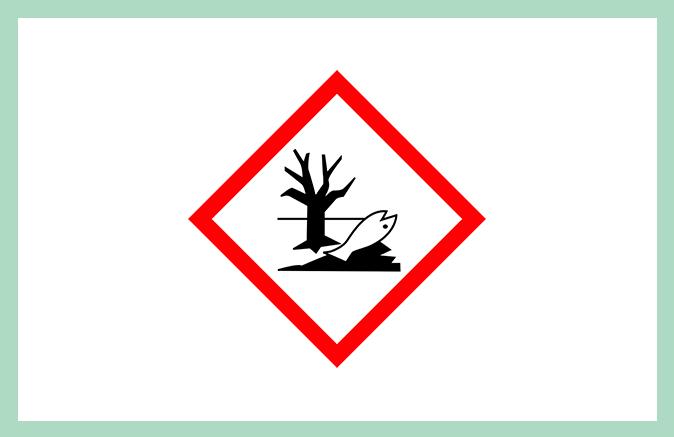 Symbool huishoudproduct milieuschadelijk